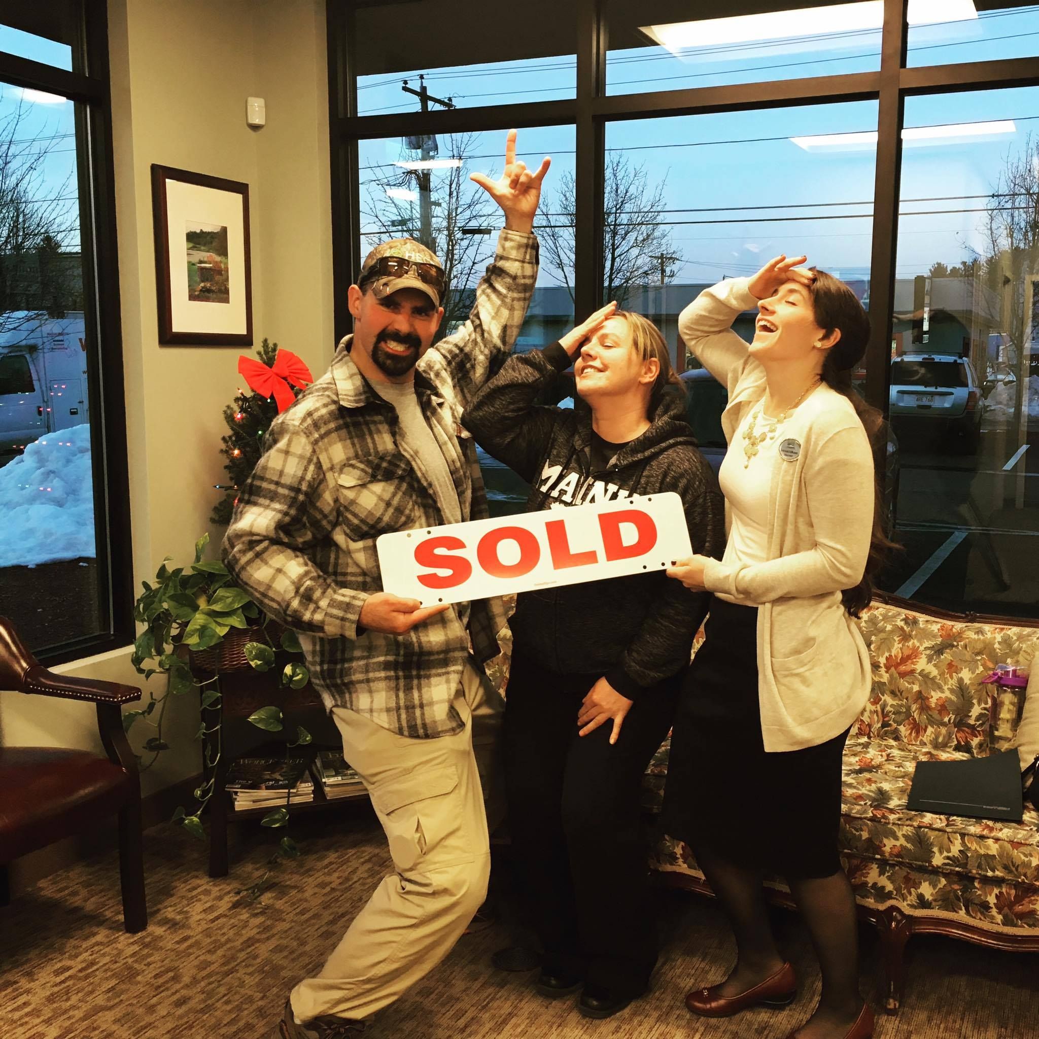 SOLD closing buyers